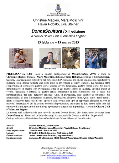 Poster DonnaScultura